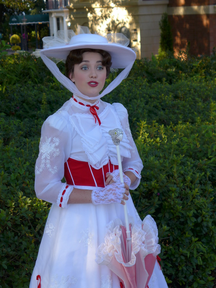 Mary Poppins at Disney's Epcot,Lumix LX7 Untouched JPEG.